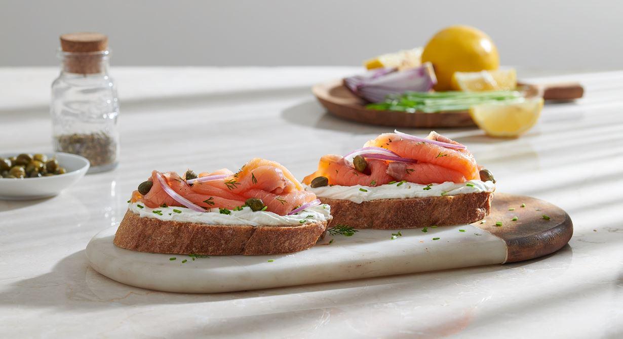 Salmon Classic Sandwich