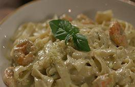 Shrimp Fettucine