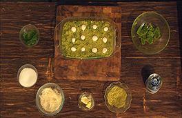 Pistachio and Cream Dessert