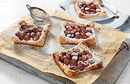 Grape and Fennel Pastries