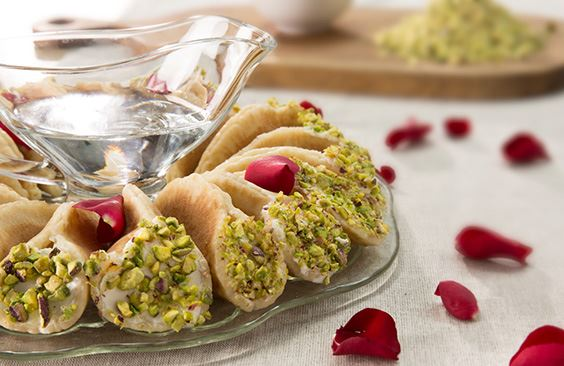 Qatayef With Cream