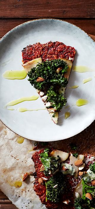 Beetroot Pizza with Castello Mellow Black