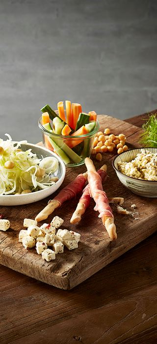Fetta, Serrano Grissini & Fennel Salad