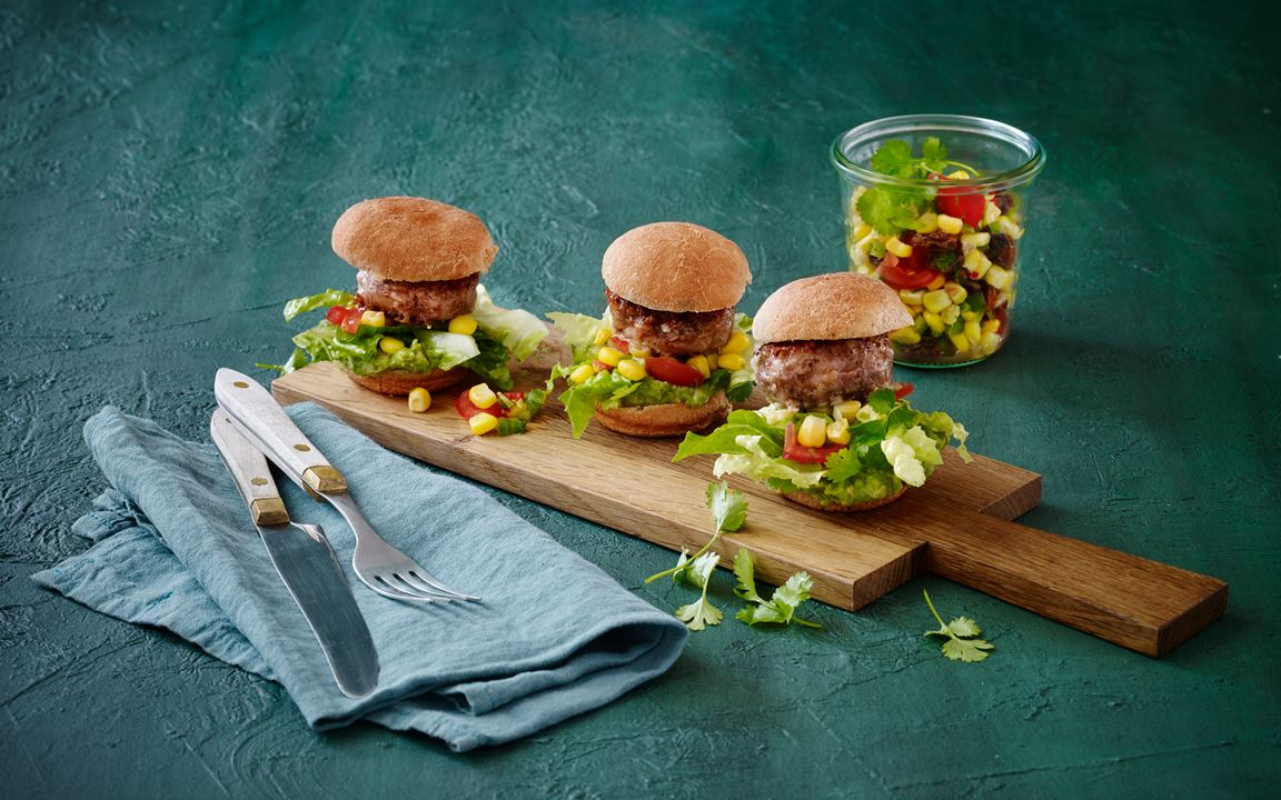 Mexican-style sliders