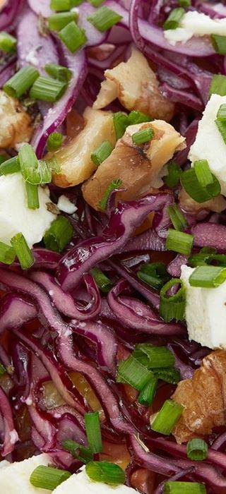Red Cabbage & Orange Salad