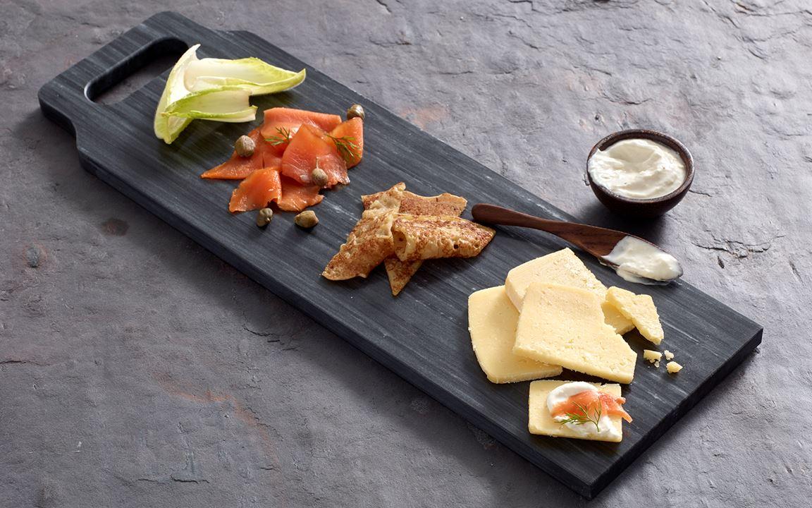 Aged Havarti Crème Fraîche Plate