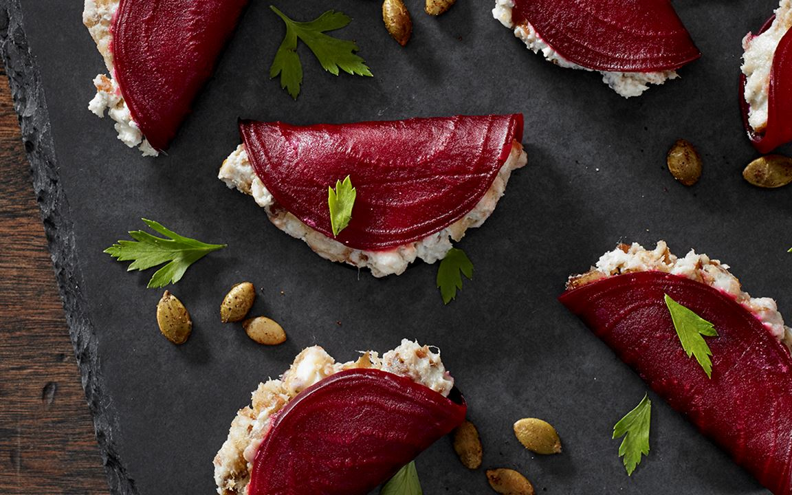 Blue Beetroot Fold-Overs