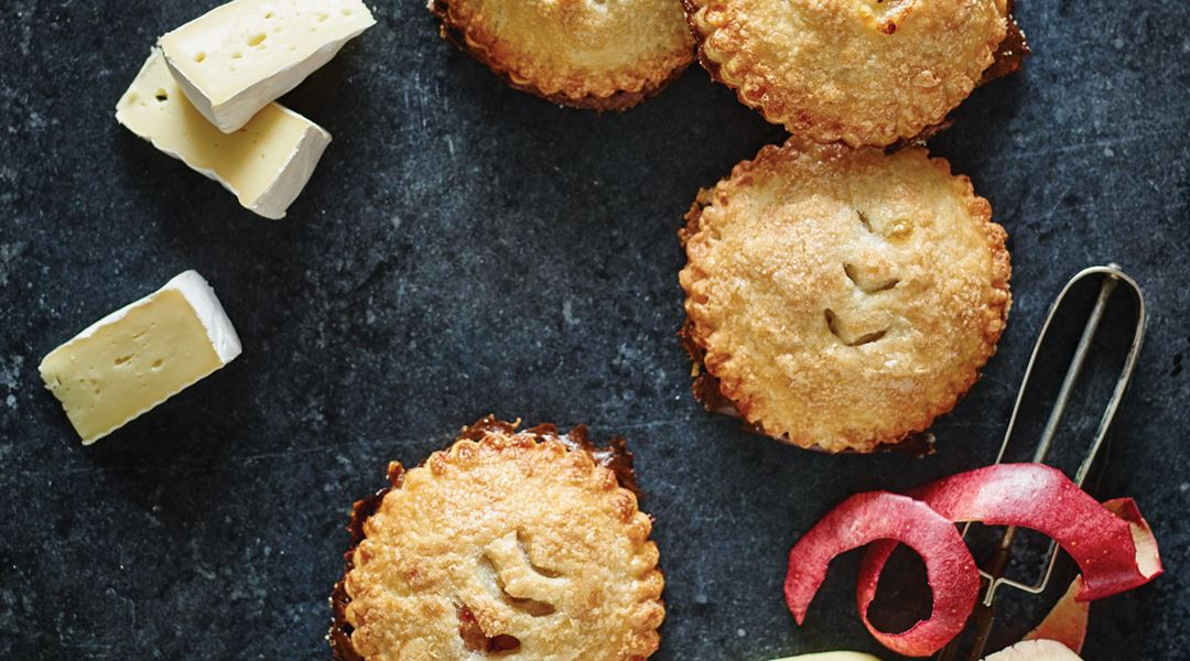 Castello® Brie and Apple Hand Pies