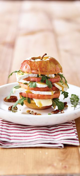 Castello® Brie Grilled Stacked Apple Salad