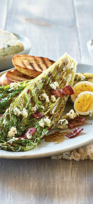 Castello® Blue Grilled Romaine with Bacon