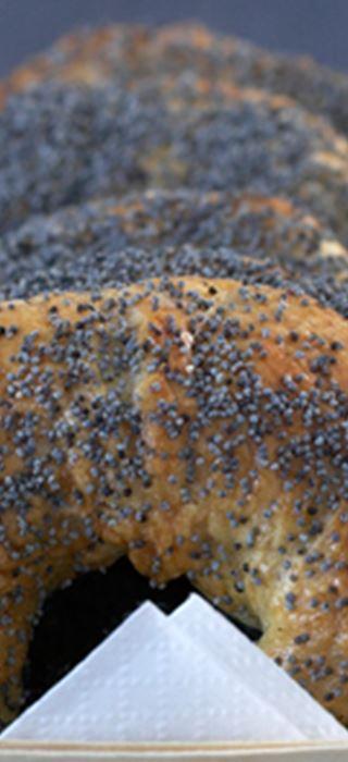Cinnamon-orange bagels