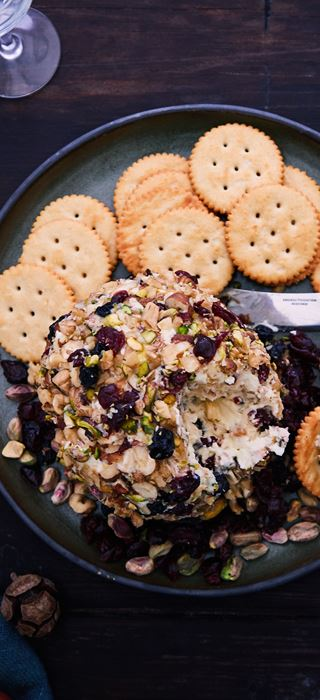 Double Crème White Cheese Ball
