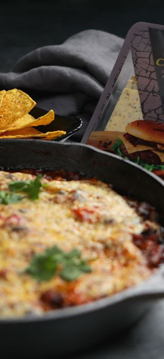 Skillet Chilli Cheese Bake