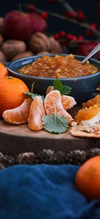 Spiced Clementine Confiture