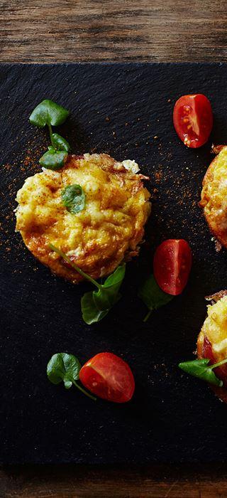 Muffins-déjeuner au fromage Crémeux Brie