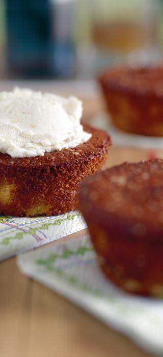 Ananas-Ingwer-Muffins mit Castello Ananas