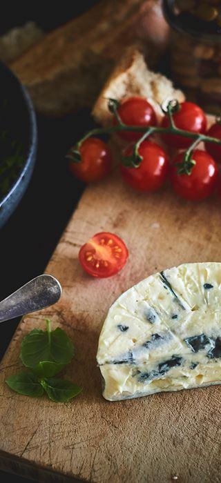 Bohnensalat mit Blue Cheese