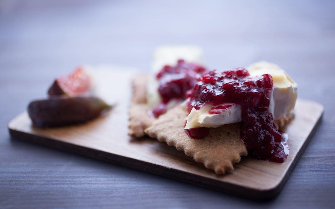 Cranberry-Chutney für Käse
