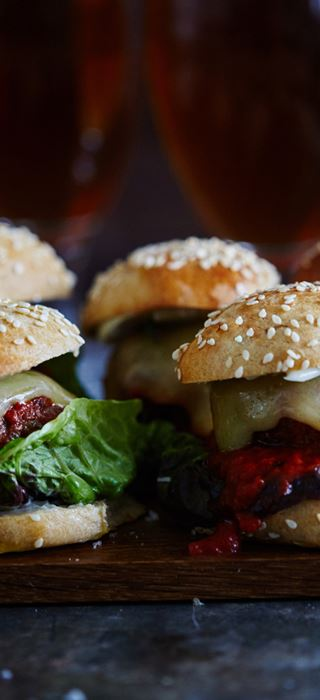 Fleischbällchen-Miniburger