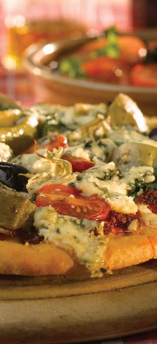 Pizza mit Danablu