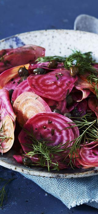 Rote-Bete-Salat mit Apfel und Dill