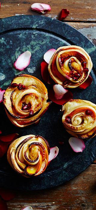 Süße Apfelrosen
