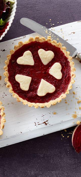 Rødbedetærter