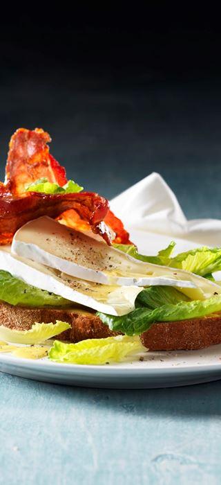 Caesar sandwich with Brie