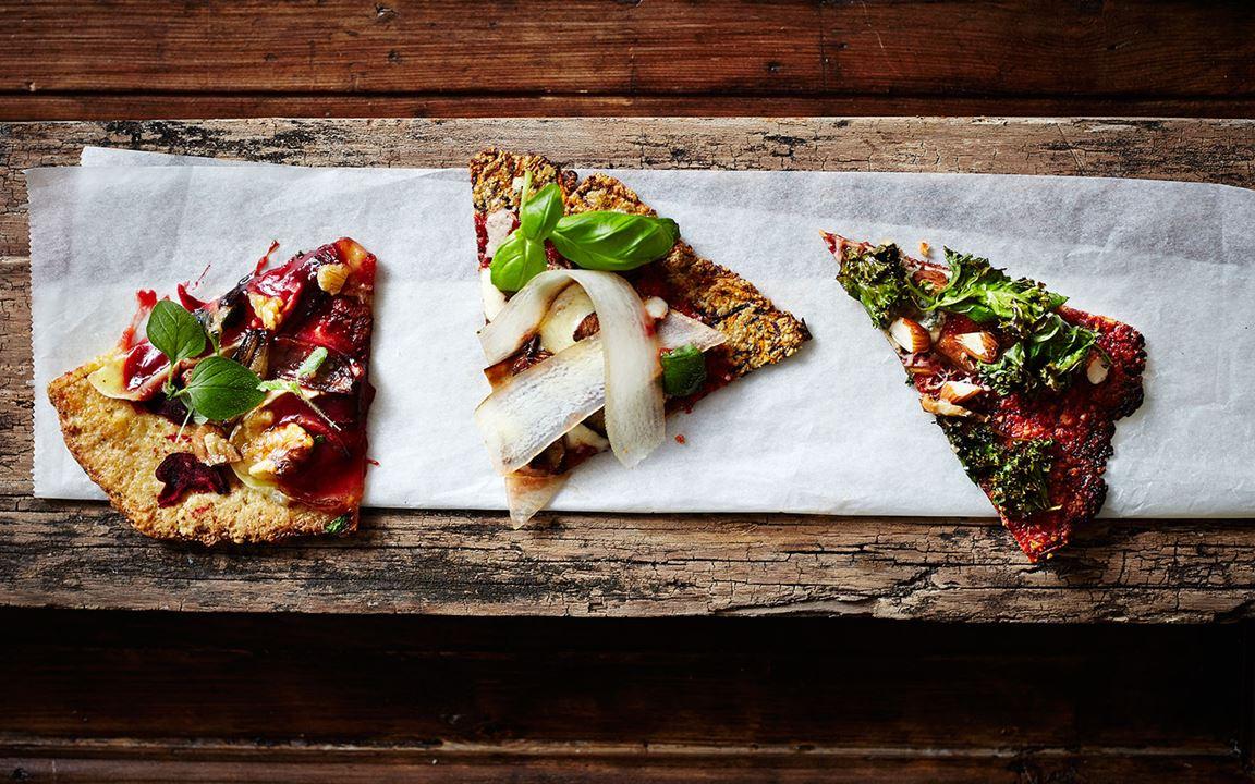 Carrot pizza with portobello mushrooms and chorizo – the ultimate recipe