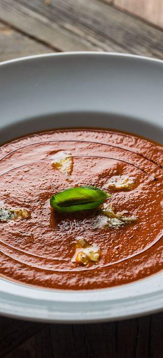 Hjemmelaget tomatsuppe