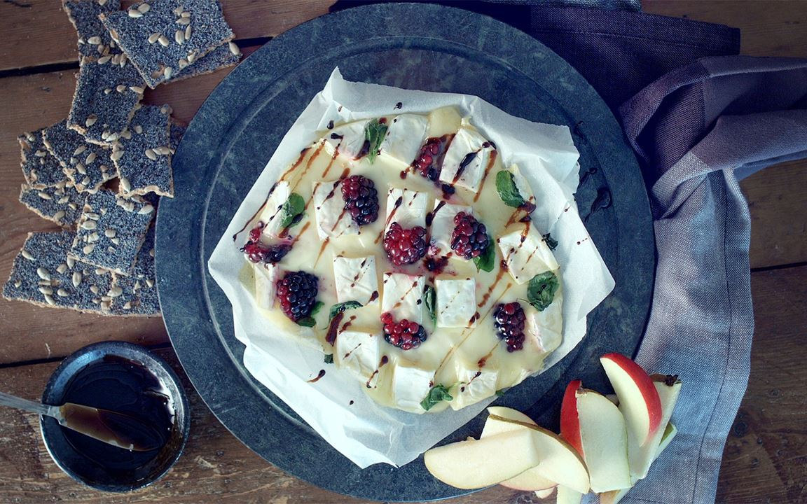Baked Extra Creamy Brie