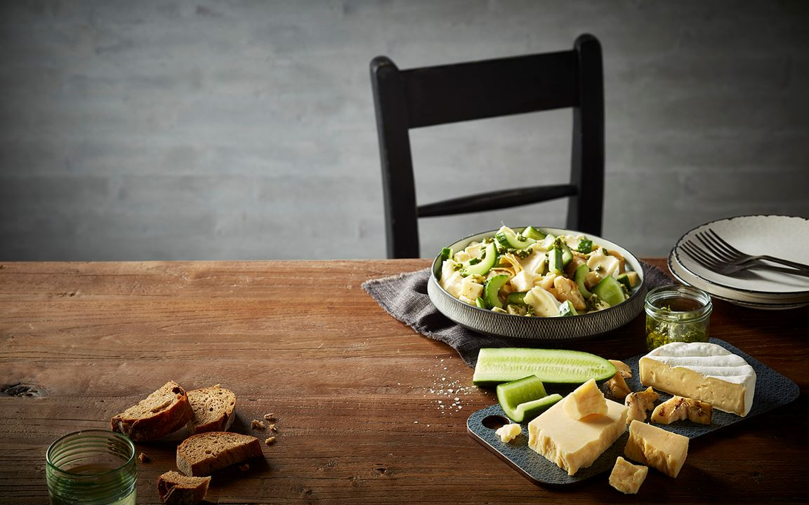 Cheddar and Brie power bowl