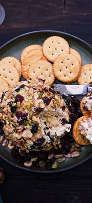 Creamy White Cheese Ball