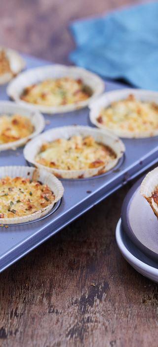 Macaroni Cheese Muffins