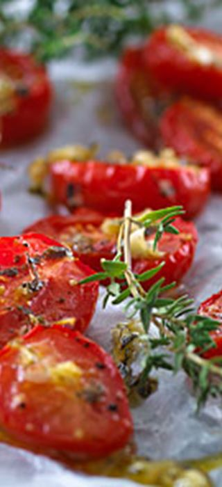 Semi-dried cherry tomatoes