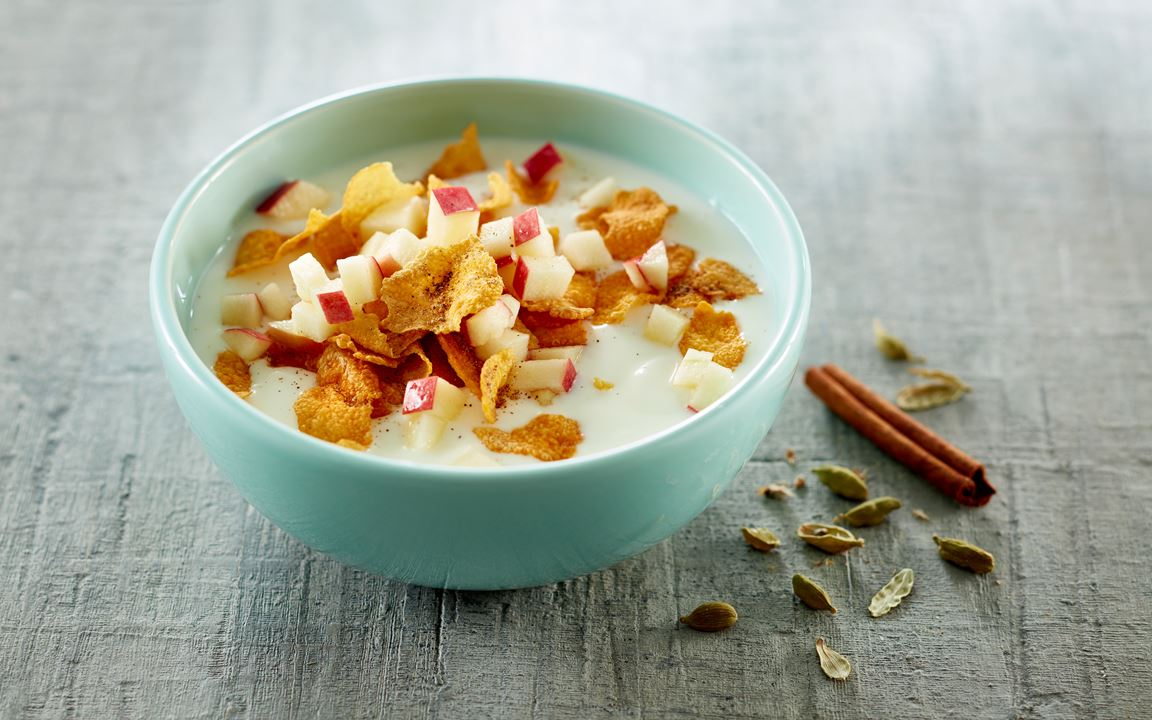 Spiced cornflakes