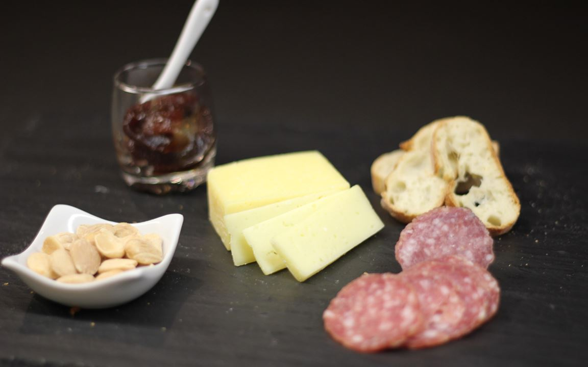 Aged Havarti Cheese course