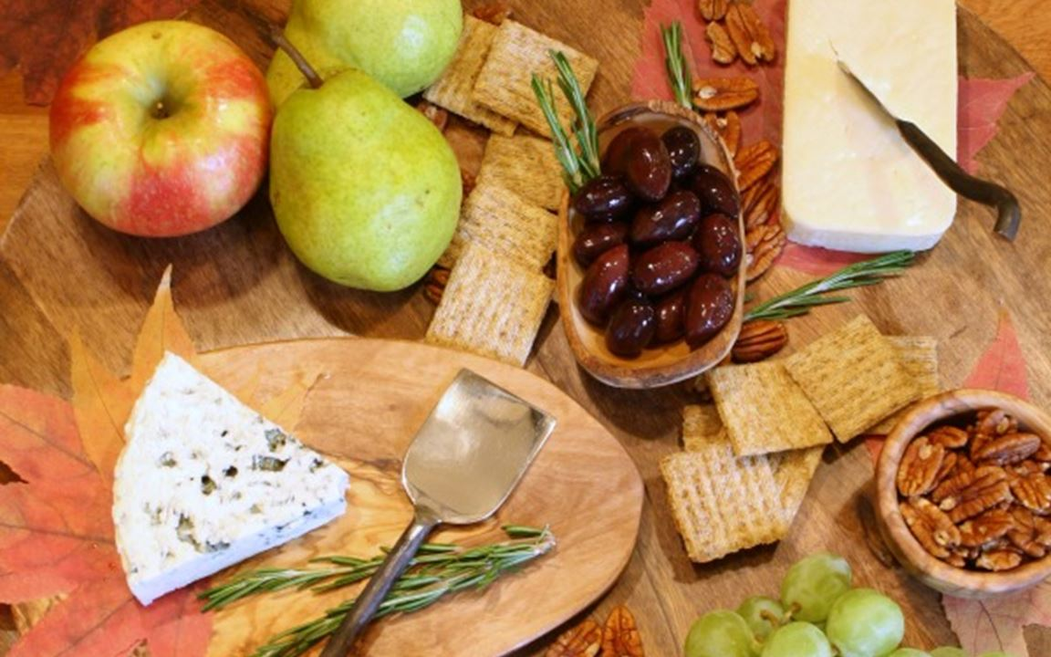 Award-winning cheese board