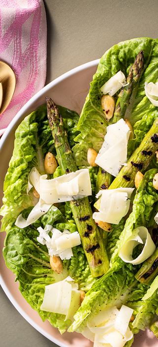 Grilled asparagus salad with Creamy Havarti