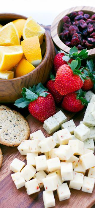 Movie night cheese tray
