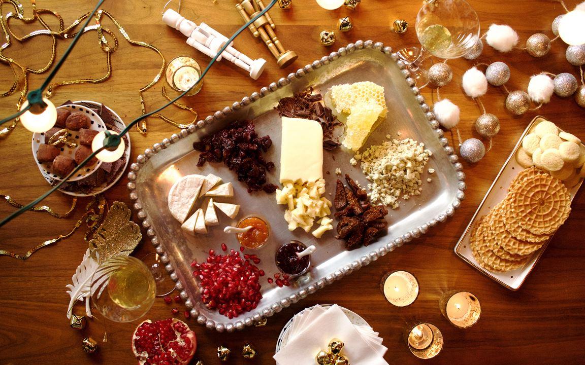 Sweet cheese board