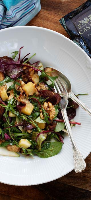Warm Salad With Castello Aged Havarti Cheese