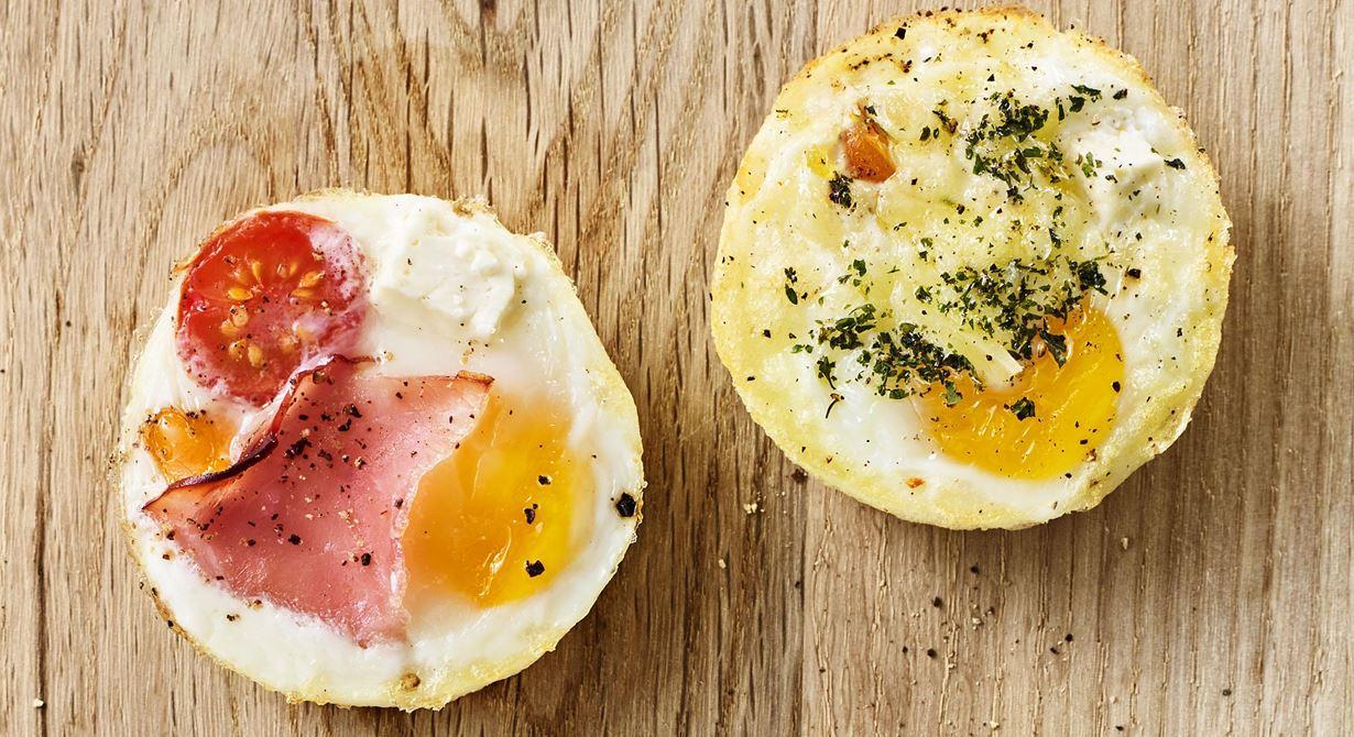 Ägg innehåller både protein, fett och vitamin D och är bland det nyttigaste man kan äta. Ett superenkelt tillagninssätt är att baka dem i ugnen.