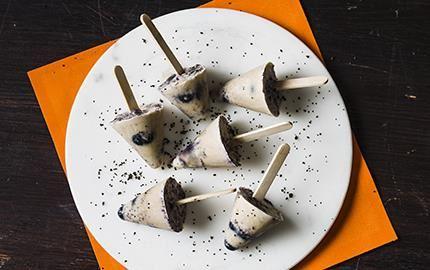 Goda glasspinnar med en spännande smakkombination och lekfull form.