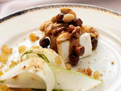 En elegant rätt som är fantastiskt god som dessert. Servera gärna ihop med ett friskt dessertvin.