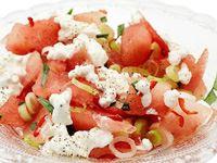 Chilimarinerad melon