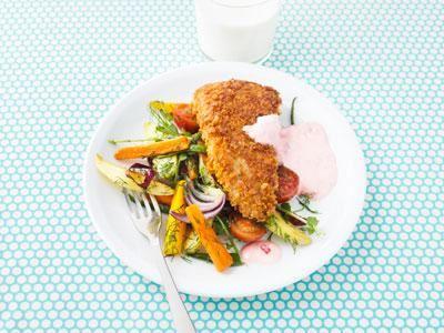 Krispigt panerad fiskfilé, smör- och dillglaserade primörer med sötsyrlig crème får högsta smakbetyg.
