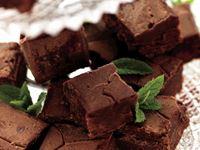 Fudge är en engelsk klassiker som här känns extra god tack vare smaken av pepparmynta.