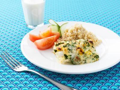 Vi köper mycket grönsaker. Ett smart sätt att få eleverna att äta rotfrukter är att mixa ner dem i såsen och döpa fisken till något de gillar. Ostfisken är alltid efterfrågad.