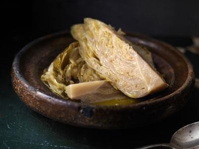 Ett perfekt tillbehör till fisk eller en bit vilt. Rester som blir över kan du mixa till en god soppa eller sås.